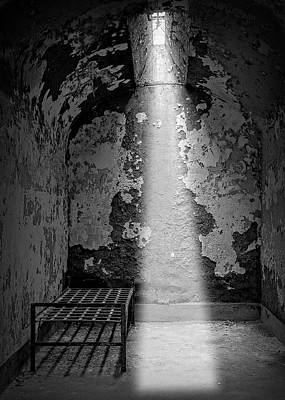 Photograph - Al Capone Cell - Eastern State Penitentiary by Daniel Hagerman