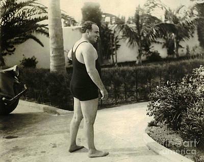 Al Capone Photograph - Al Capone In Florida by Jon Neidert