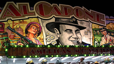 Photograph - Al Capone On Funfair by Eva-Maria Di Bella