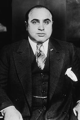 Al Capone - Scarface Print by War Is Hell Store