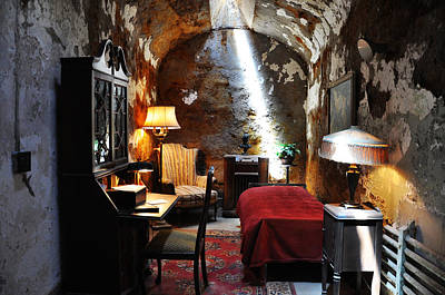 Al Capone's Cell - Eastern State Penitentiary Print by Bill Cannon