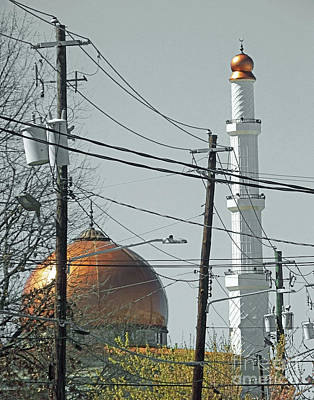 Photograph - Al Farooq Masjid Of Atlanta by Lizi Beard-Ward