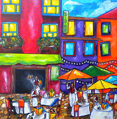 Painting - Al Fresco by Patti Schermerhorn