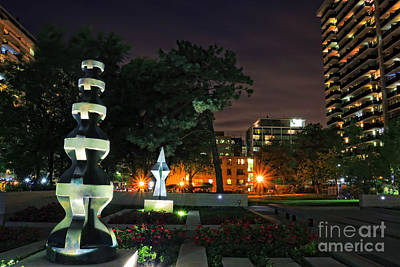 Photograph - Al Green Sulpture Park by Charline Xia