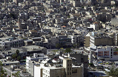 Photograph - Al-hussein Circle - Nablus 2 by Isam Awad