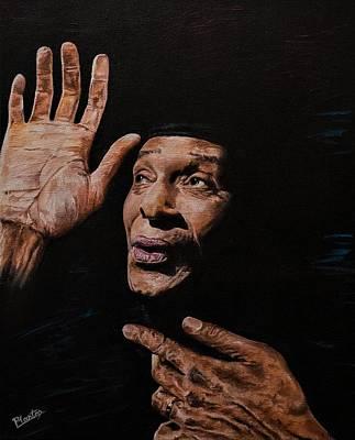 Painting - Al Jarreau by Pascal Martos