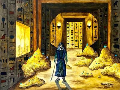 Painting - Al Mahmoun In Egypt  by Gabriel Cajina