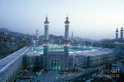 Saudia Photograph - Al-masjid Al-haram by Mehmet Biber