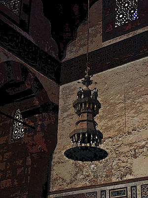 Photograph - Al-nasir Muhammad Mosque Interior II by Debbie Oppermann