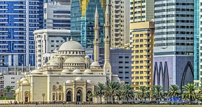 Photograph - Al Noor Mosque by Roberto Pagani