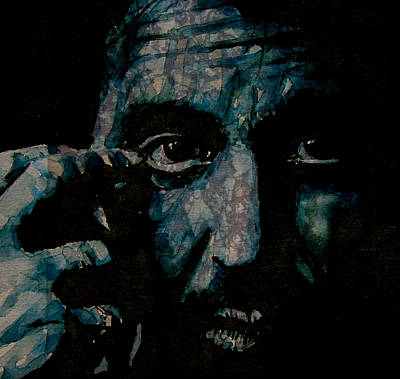 Gaze Painting - Al Pacino by Paul Lovering