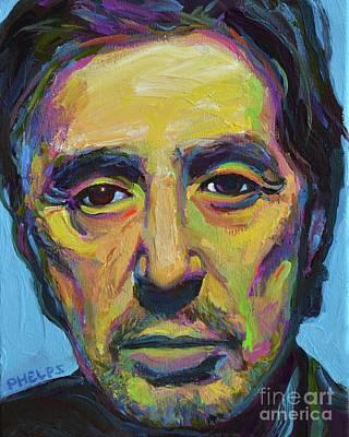 Painting - Al Pacino by Robert Phelps