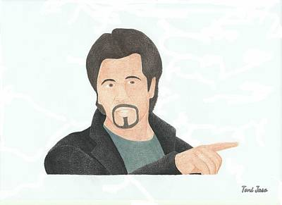 Film Maker Drawing - Al Pacino by Toni Jaso