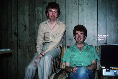 Photograph - Al Stewart And Peter White by Rich Fuscia