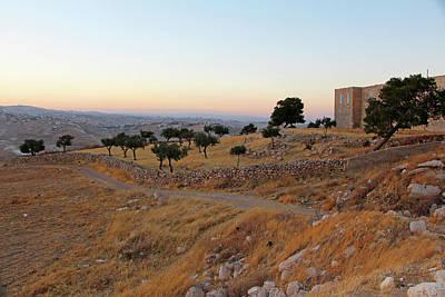 Photograph - Al-ubeidiya Monastery by Munir Alawi