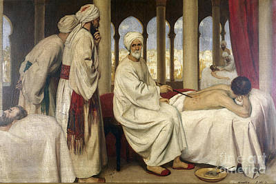 Al-zahwari Blistering A Patient, 10th Print by Wellcome Images