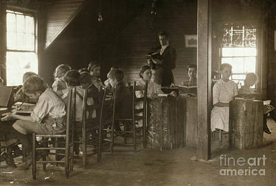 Photograph - Alabama: Classroom, 1913 by Granger