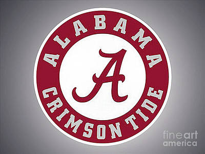 Painting - Alabama Crimson Tide 3 by Jane Biven