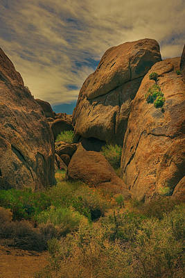 Photograph - Alabama Hills - Eastern Sierras - Two by Roland Peachie