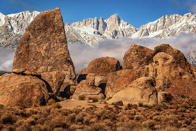 Photograph - Alabama Hills Sharks Fin by John Hight