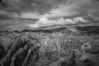 Photograph - Alabama Hills Storm by Dusty Wynne