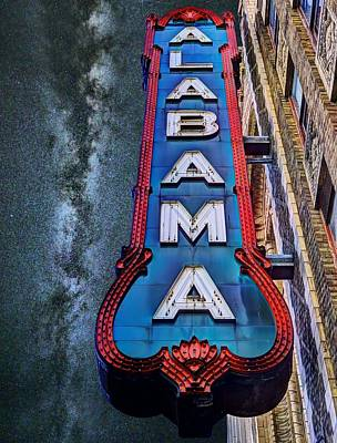 Photograph - Alabama by JC Findley
