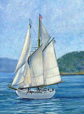 Seacape Painting - Alabama  by Paul Gardner