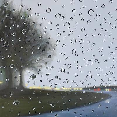 Painting - Alabama Rain by Hunter Jay