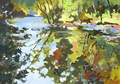 Alabama Reflections Art Print