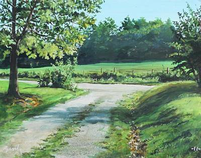 Painting - Alabama Road by William Brody