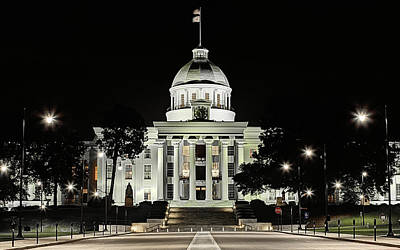 Photograph - Alabama State Capitol Building by JC Findley