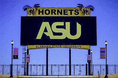 Photograph - Alabama State Hornets by JC Findley