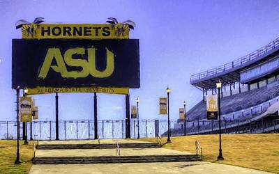 Photograph - Alabama State University by JC Findley