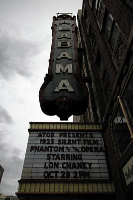 Photograph - Alabama Theater by Mike Dunn