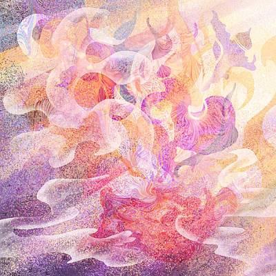 Genie Digital Art - Aladdin's Lamp by Rachel Christine Nowicki