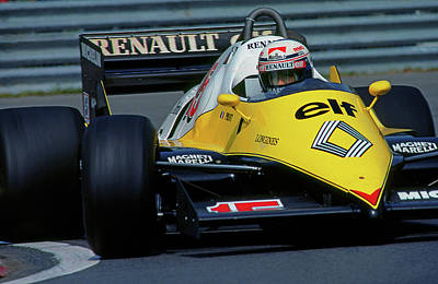 Canadian Grand Prix Photograph - Alain Does Montreal by Mike Flynn