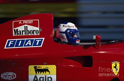 Alain Prost. 1990 French Grand Prix Art Print