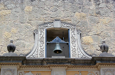 Photograph - Alamo Bell Tower by Mary Bedy