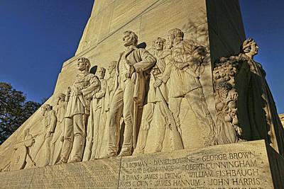 Photograph - Alamo Cenotaph Monument 2 by Judy Vincent