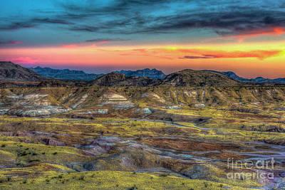 Photograph - Alamo Creek Sunset by Charles Dobbs
