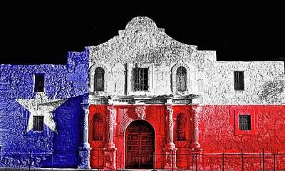 Photograph - Alamo by John Babis