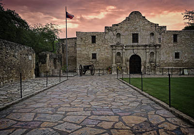 Photograph - Alamo by John Gilbert