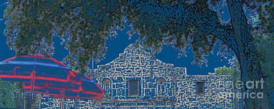 Art By Jake Photograph - Alamo San Antonio by Joe Jake Pratt