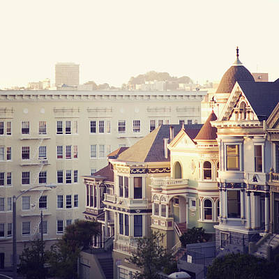 Alamo Square, San Francisco Art Print