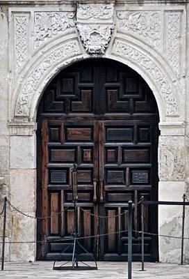 Photograph - Alamo's Front Door by Eric Tressler