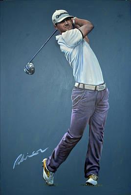 Painting - Alan Dunbar by Mark Robinson