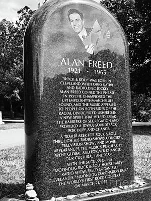 Photograph - Alan Freed by Michael Krek