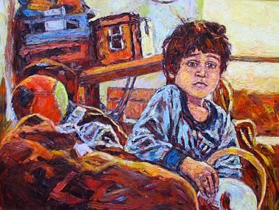 Painting - Alan by Kendall Kessler