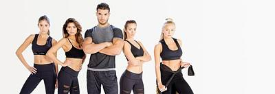 Clothes Clothing Mixed Media - Alanic Activewear by Alanic Activewear
