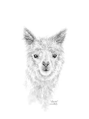 Animals Drawings - Alaria by K Llamas